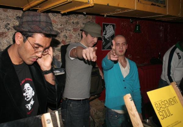Basement Soul circa 2007: Amar Patel, Graham Luckhurst and Simon See