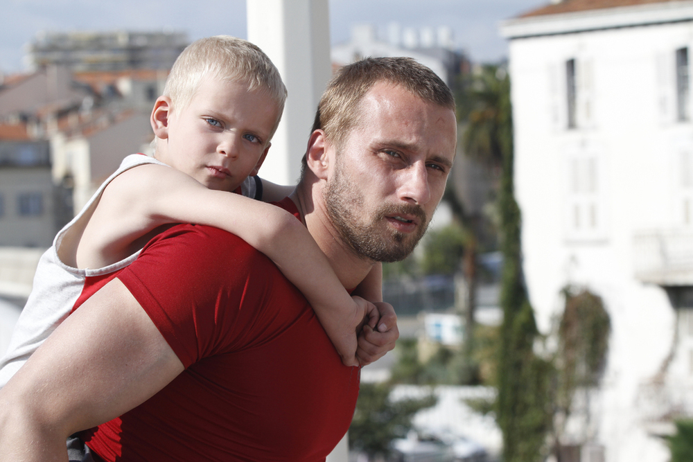 Ali with his five-year-old son, who he is put in charge of. A responsibility that does not sit well on his shoulders