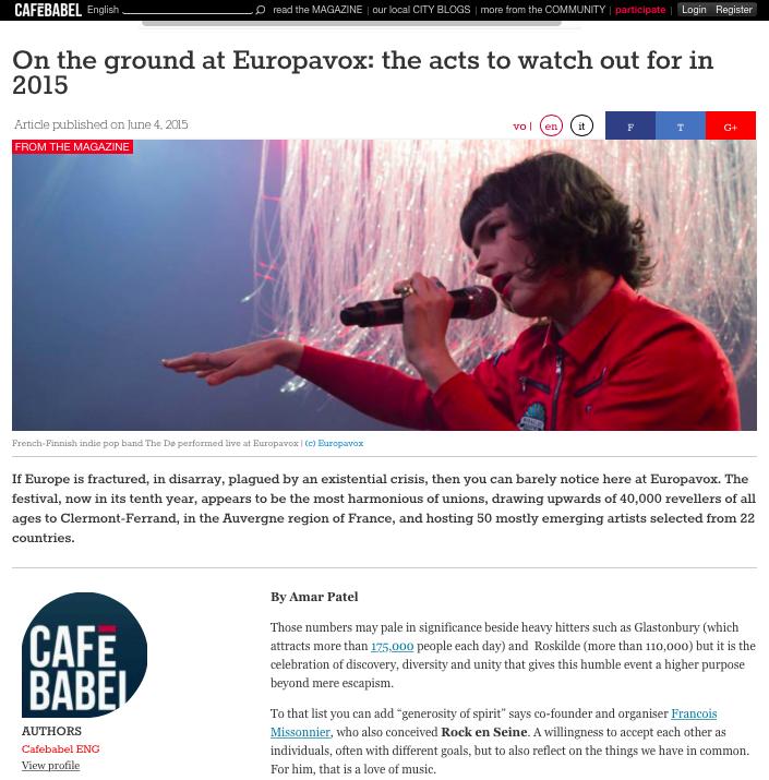 Amar_Patel_report_Europavox_Cafe_Babel