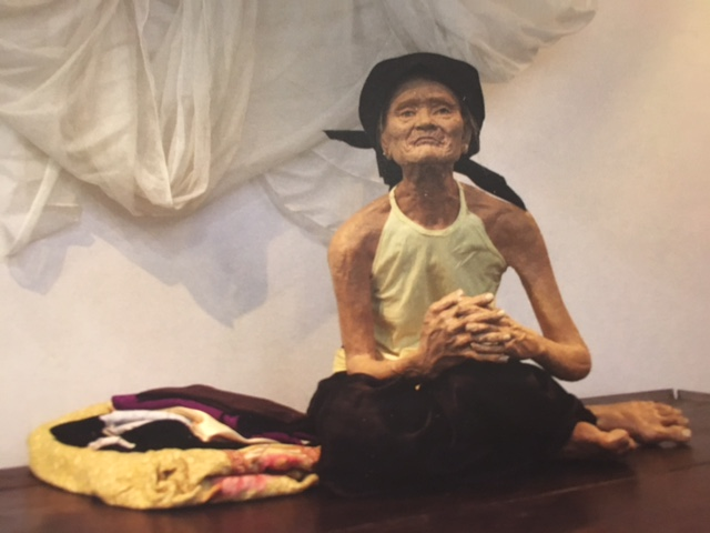Ngong by Tran Van Thuc (2010) – Mixed media, 70 x 60 x 60cm
