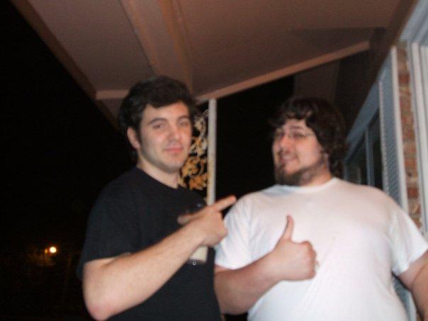 Sam & Jeff circa 2007