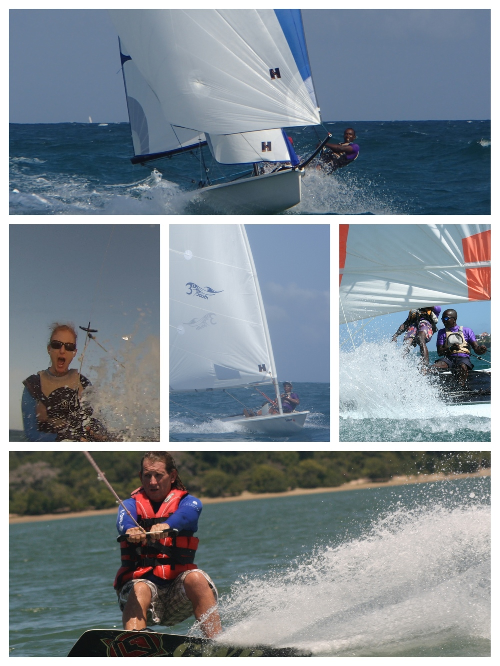 3° South Watersports on your doorstep.
