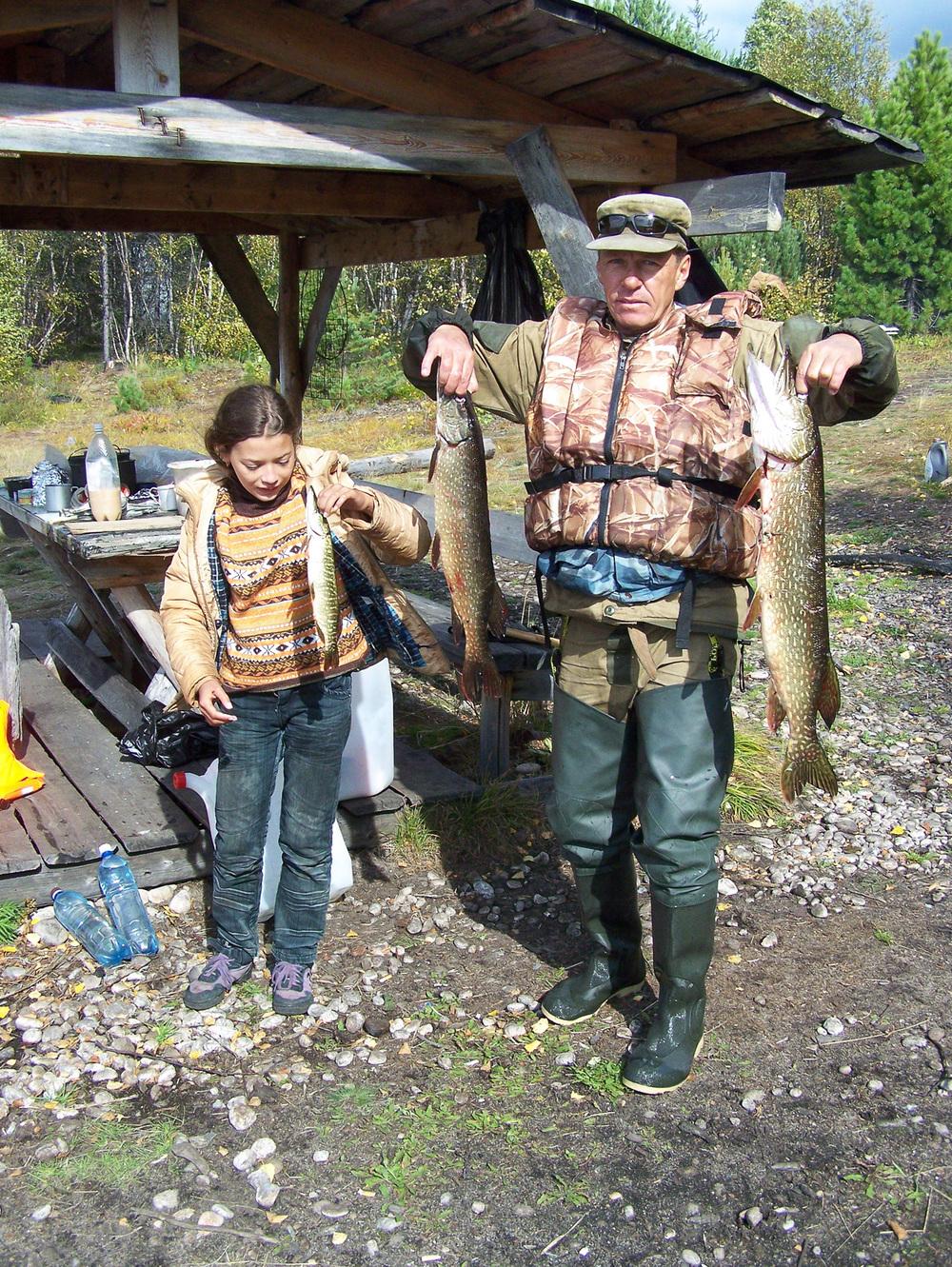 Drobný úlovek z nevydařeného Civilizace na březích jezera.lovu. Snímek: Jakub Matějovic