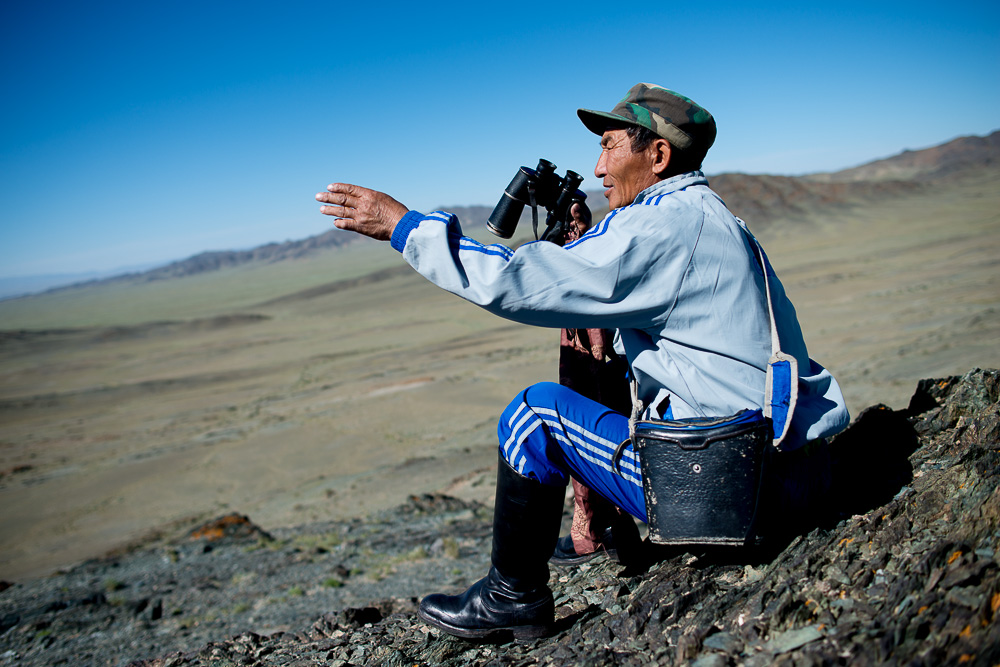 To, co byl schopen vidět tento pastevec pouhýma očima, já nedokázal ani s dalekohledem.