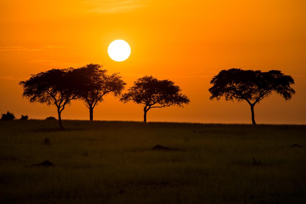 Ugandské ráno