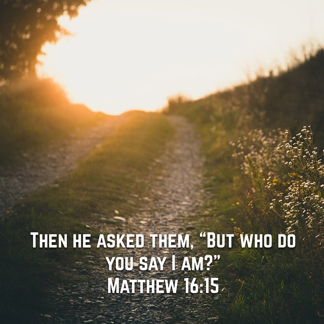 I'm looking forward to the journey the answer to this question will take me on in 2017.  #bible #5x5x5 #gospel #matthew