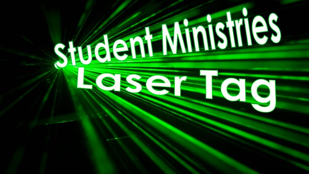 Laser Tag! (Student Ministries Event) Friday September 297:00 - 10:00 pm - contact Brendon or Meagan: students@renfrewbaptist.ca for details