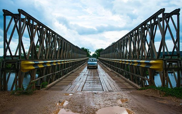 A few days ago I embarked on my first cross country tour by motorcycle in Cambodia. After driving a little over 375 miles I have learned one thing... If you take side roads you find badass bridges!  #JSphoto #Adventure #Discover #Explore #Cambodia #motorbiketrip #Banlung #NatGeo #backpacker #Bridge #photography #Nikon #nikon1j5 #followme #travel #crosscountry #sideroad