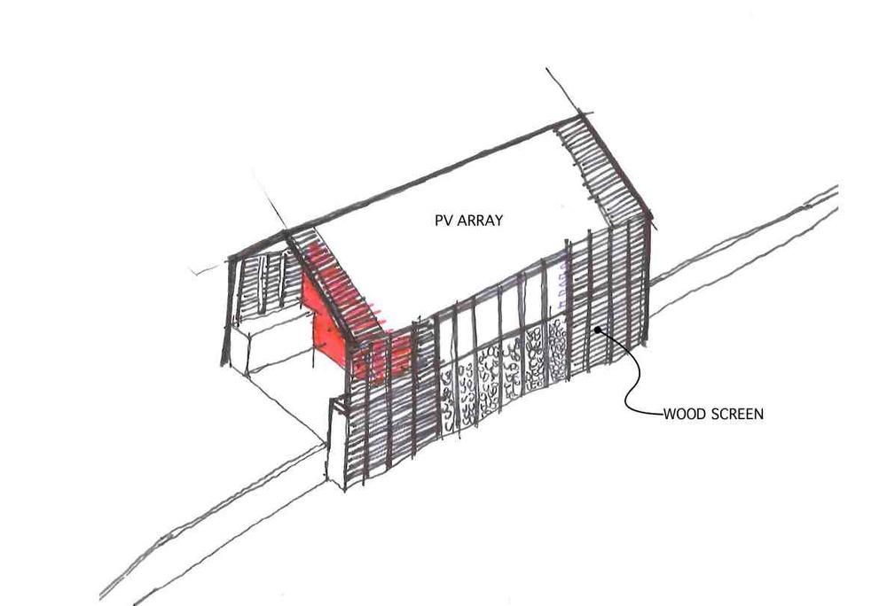 concept shed  u2014 solterre design