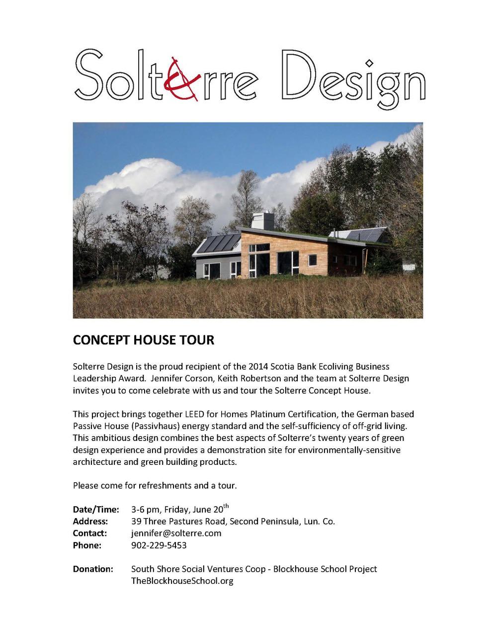 Concept House Invitation