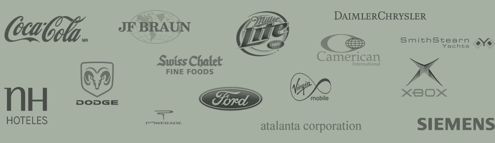 Prodigy has worked directly with these brands and more.