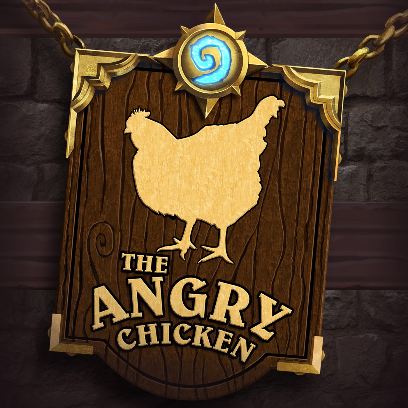 Image of The Angry Chicken: A Hearthstone & Battlegrounds Podcast podcast