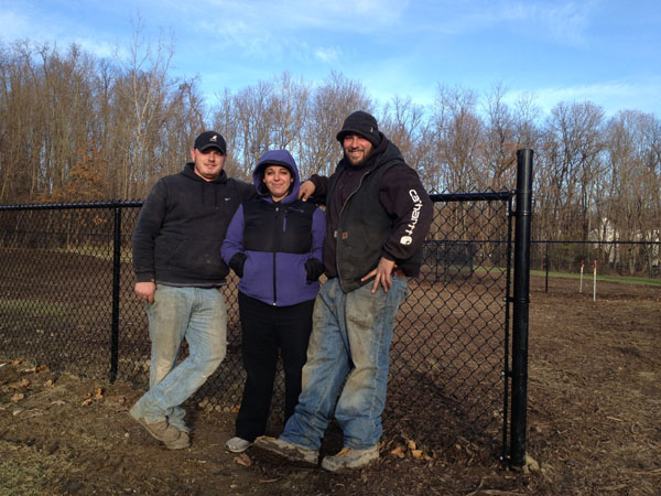 The great team from DeCar Fence Inc.