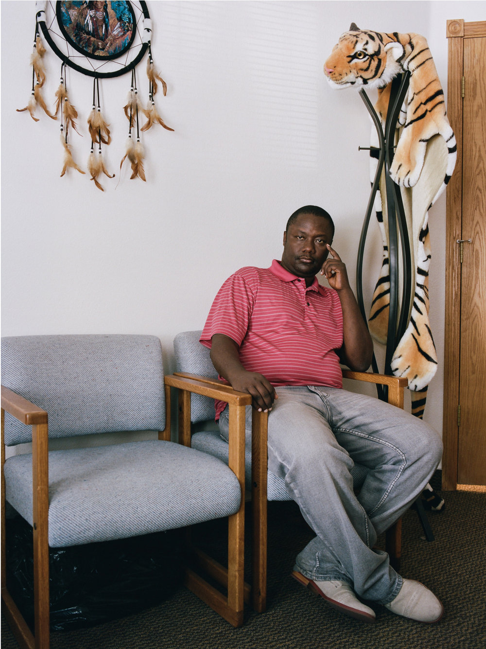 Zeze Rwasama  Director of Twin Falls Refugee Center  New York Times Magazine