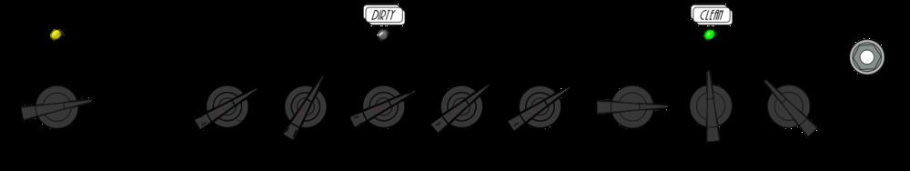 Dirty Slide Shuffle Rhythm Settings