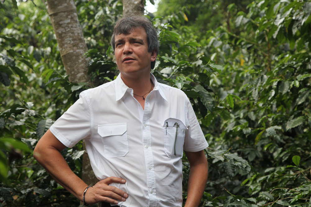 Fernando Alfaro, owner and manager of El Carmen