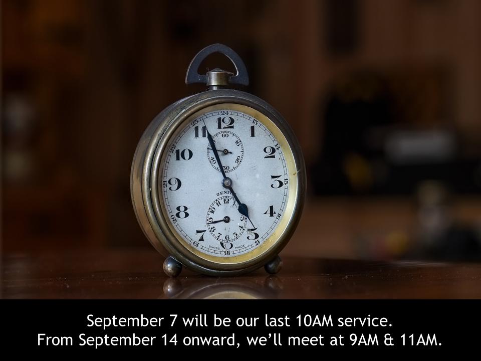 9AM & 11AM services.png