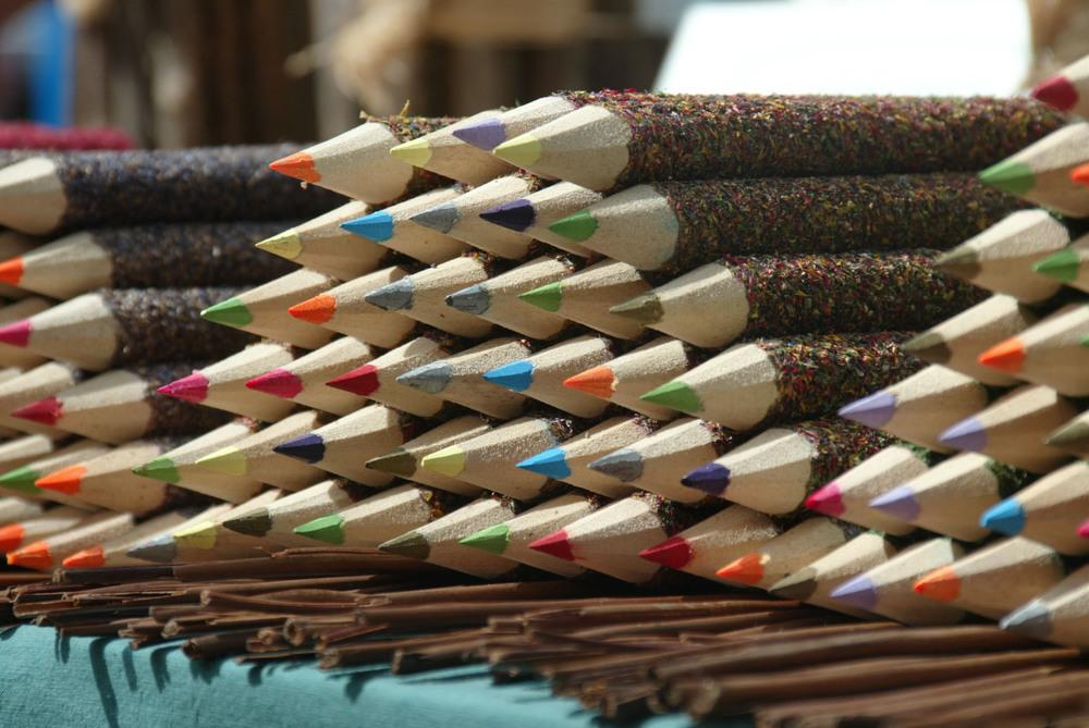 Colored Pencils, Lyon France