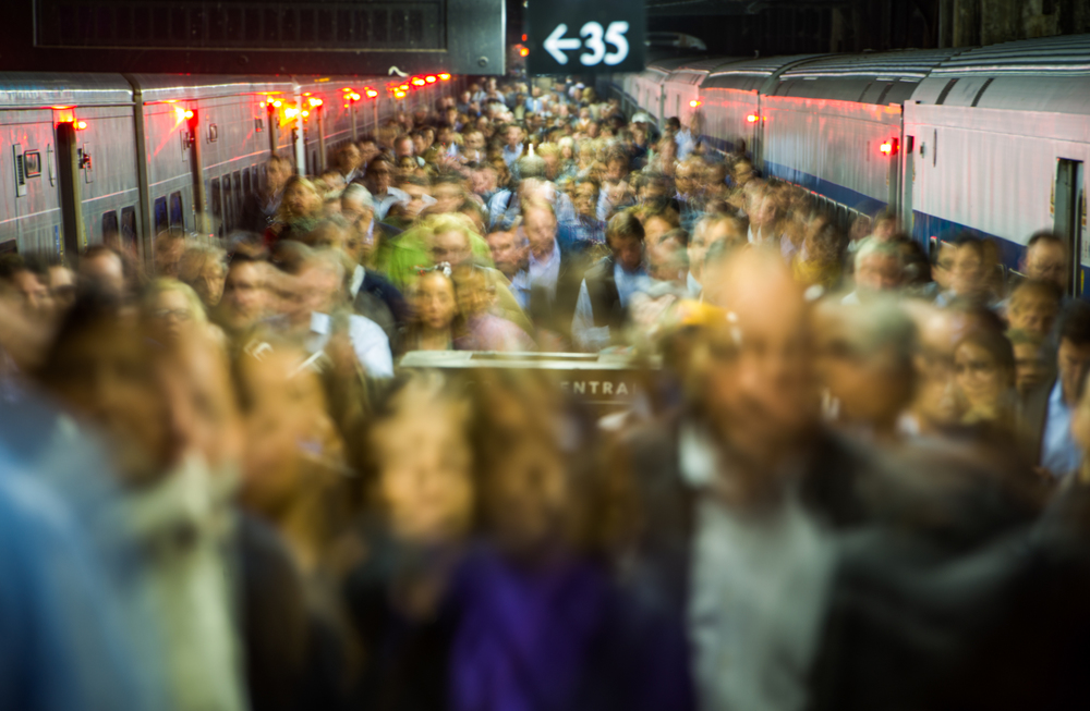 Metro North Commuters