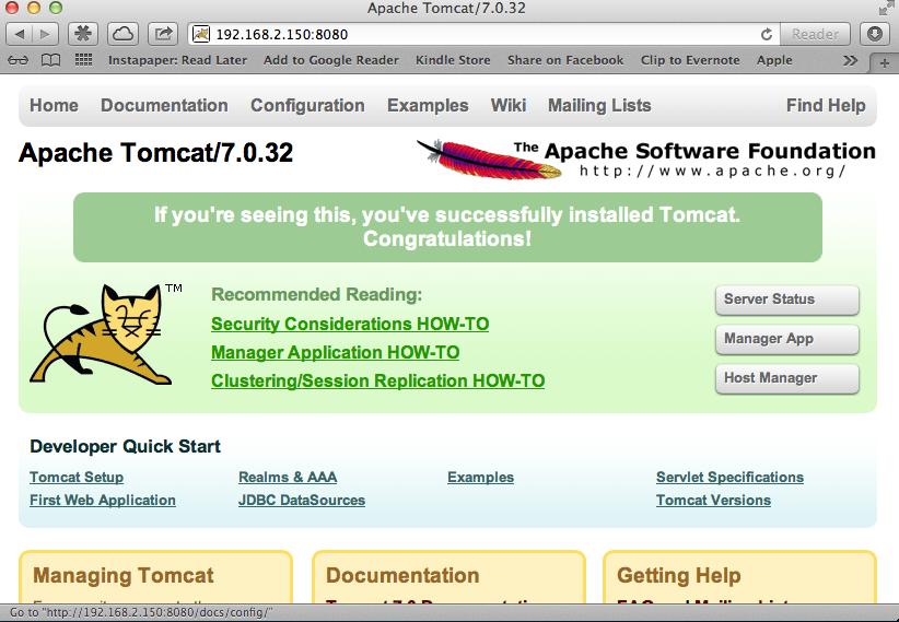Tomcat7-1 Operational