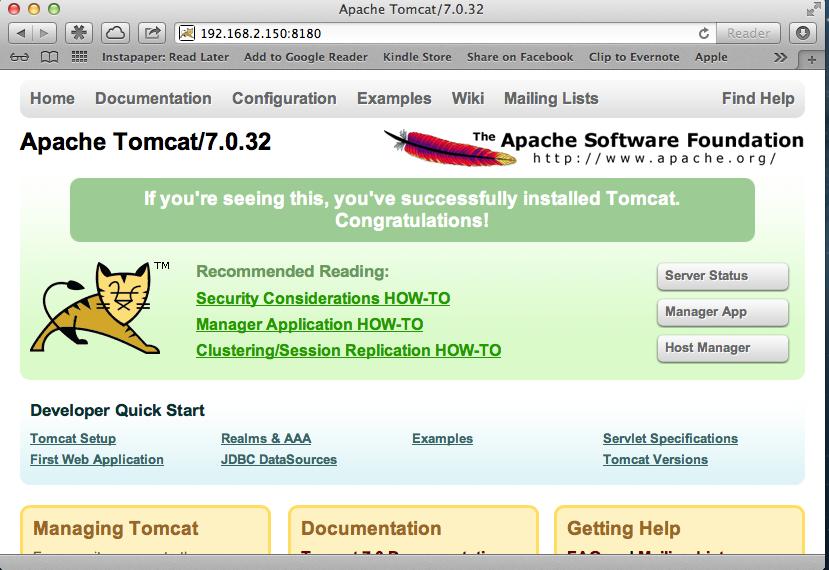 Tomcat7-2 Operational