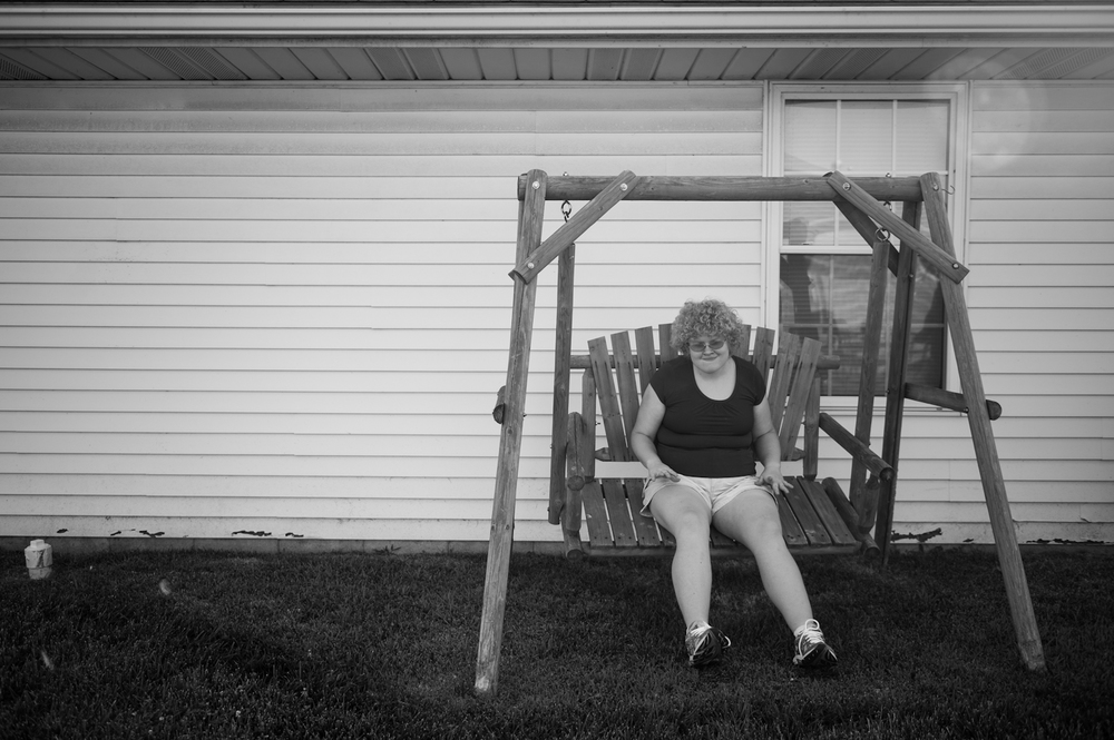 Once Casey discovered that the bench in the backyard of her Jasper home could swing, she stayed there quietly by herself until dinner time on June 22.  The feeling of swinging is often comforting for people with autism, including Casey.