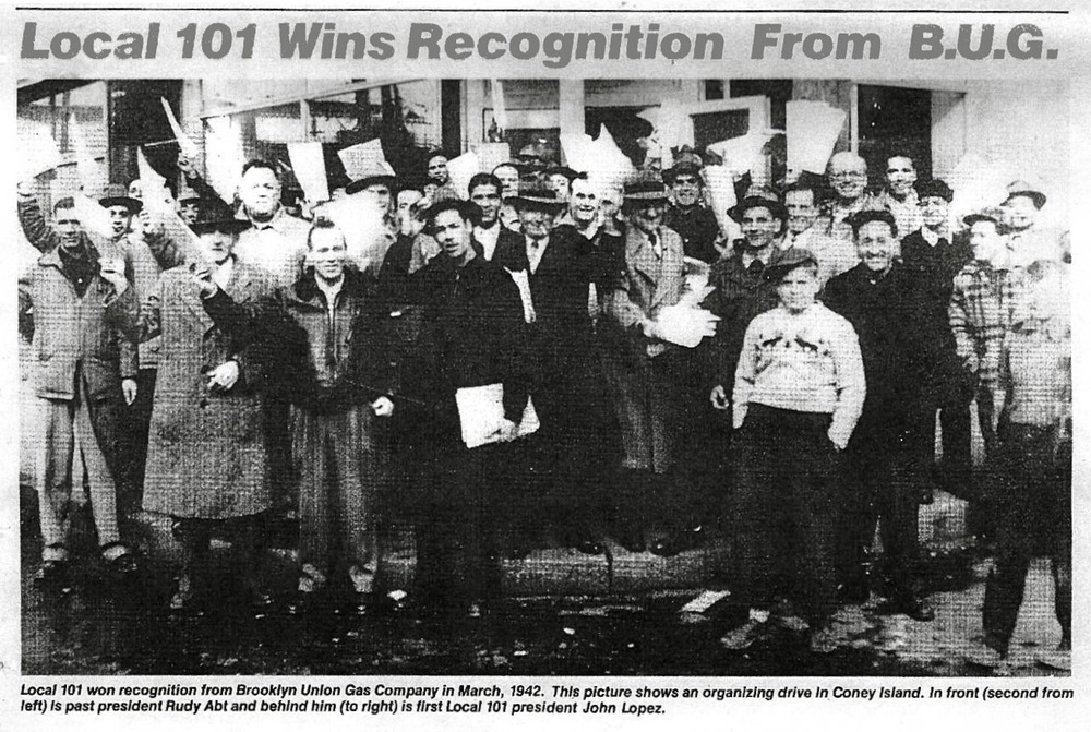 March 1942, TWU Local 101 is founded.