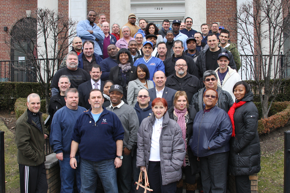 TWU Local 101's Delegates, Shop Stewards, and Executive Board.