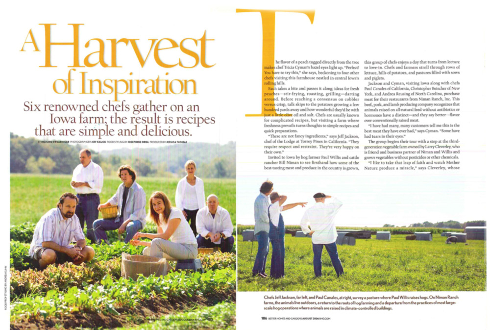 Stories about issues have the potential to be abstract and dry. So for this piece on sustainable farming, I focused on chefs who were early adopters.
