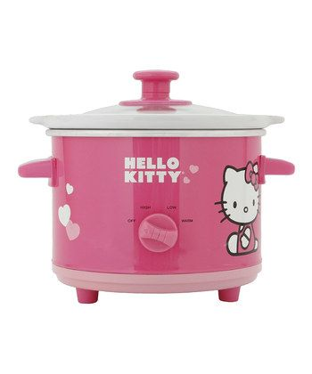 This Hello Kitty rice cooker should kill several offensive birds with one stone in regards to Asian-named gift exchanges of most sorts.