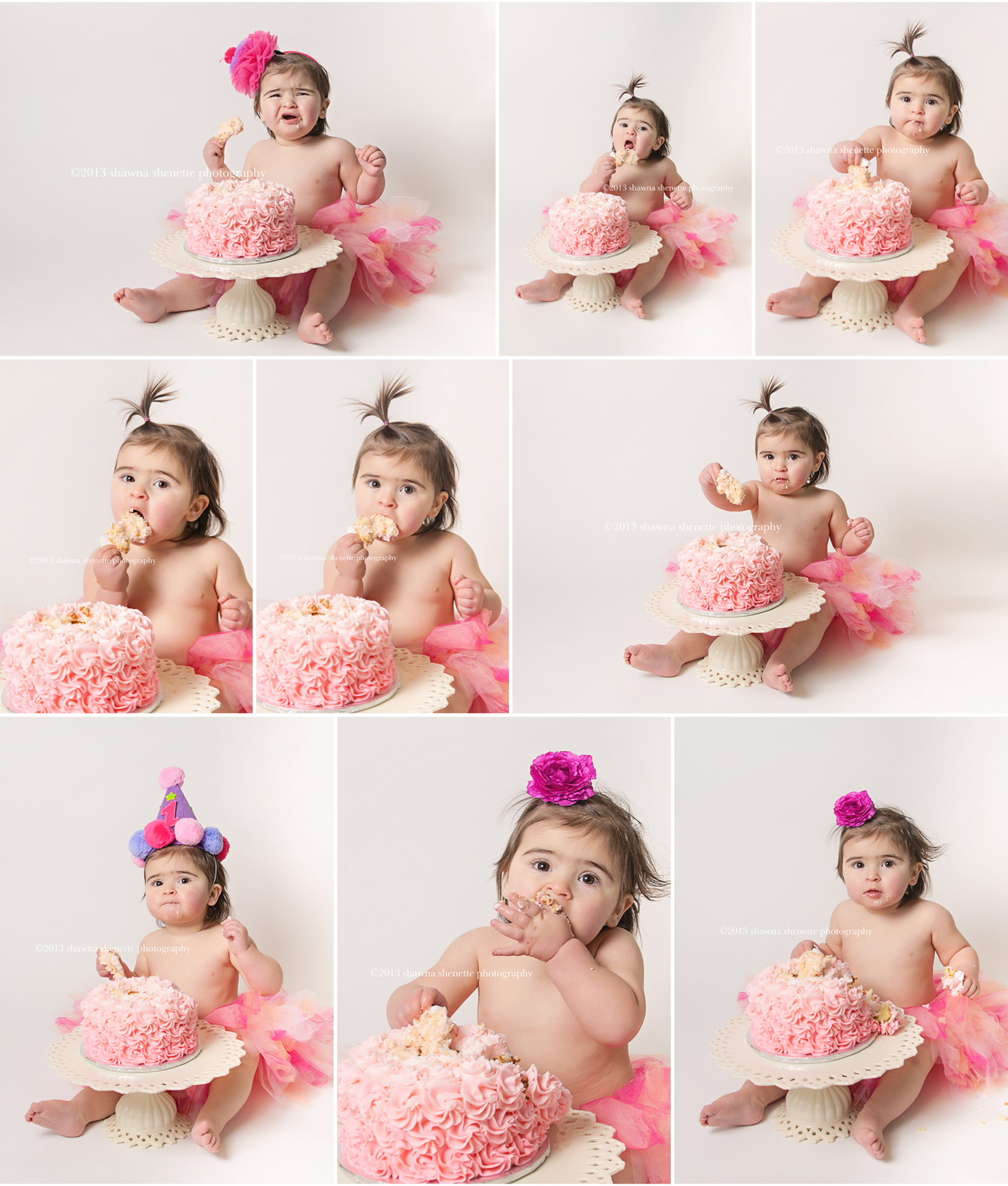 Massachusetts Baby Photographer Worcester, MA Cake Smash Photographer First Birthday Photographer