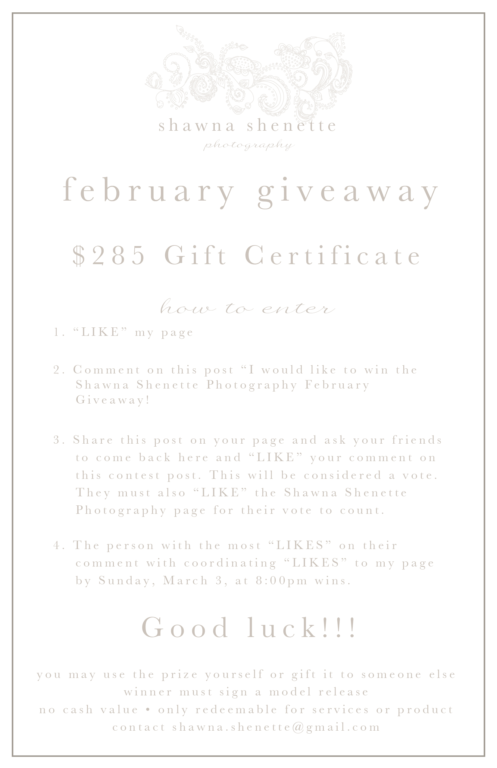 Photo Giveaway Massachusetts Child Family Photographer Central MA Boston Worcester Auburn