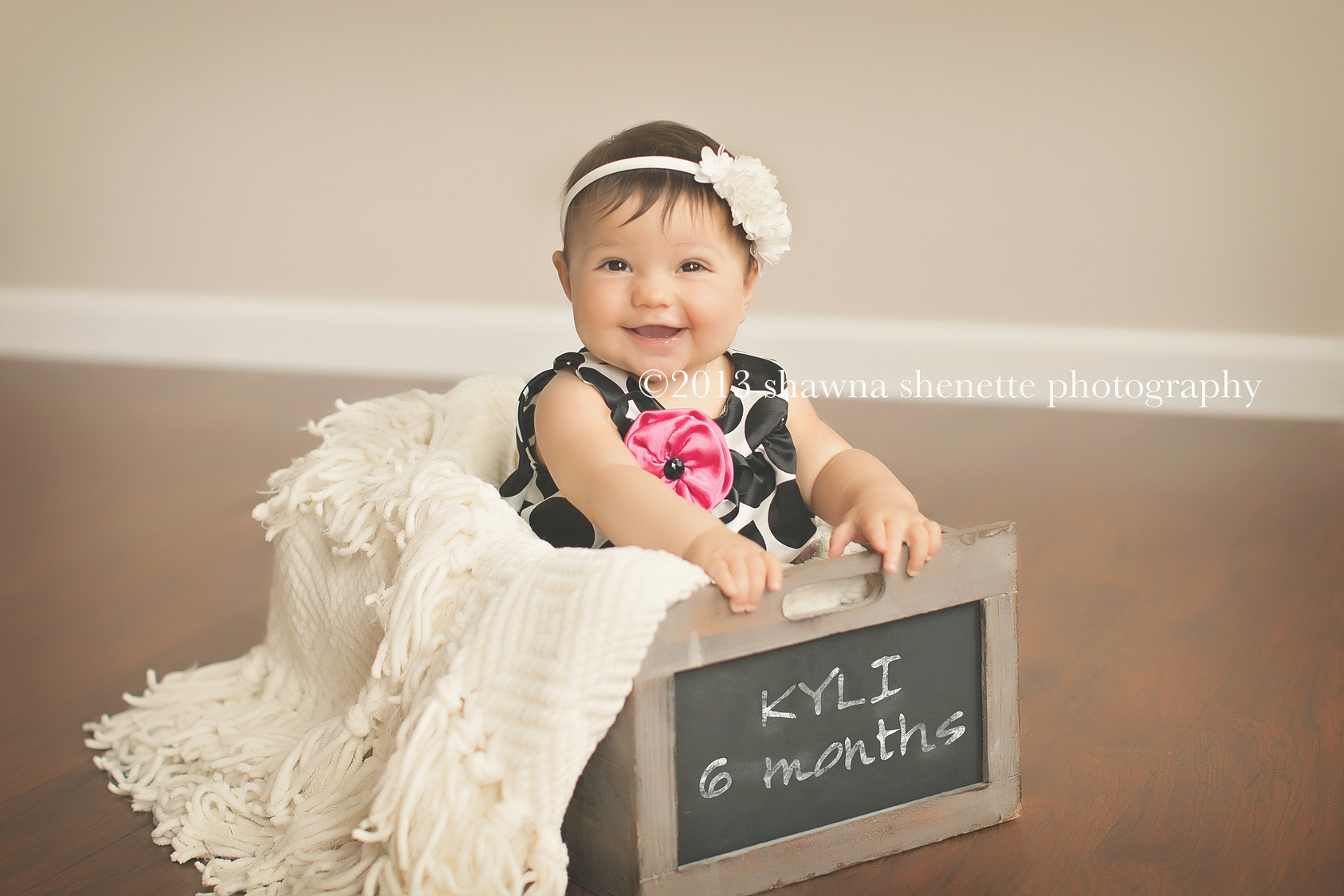 Massachusetts Baby Girl Portraits 6 month Photos Worcester Millbury Auburn Grafton