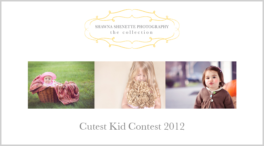 Cutest Kid Contest 2012