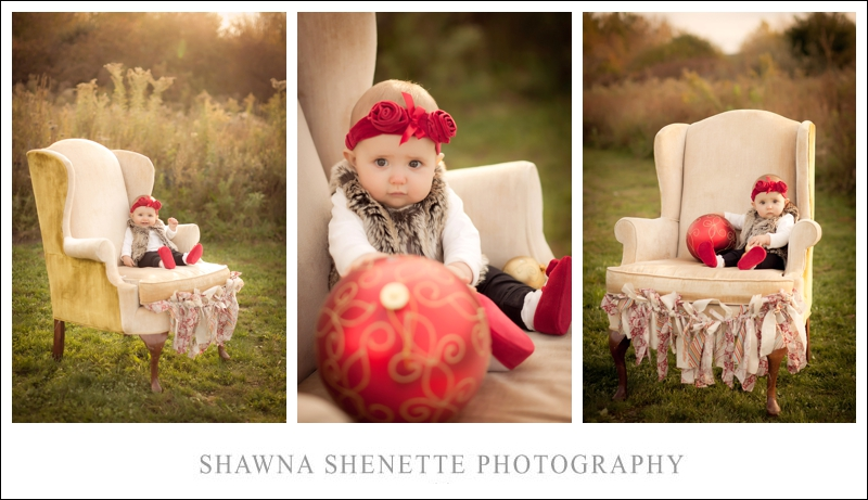 Massachusetts Photographer Baby Girl Family Photographs Outdoor Chair 9 Month Old Portraits