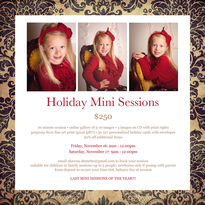 2012 Holiday Mini Sessions Massachusetts Child Photographer Family Photographer