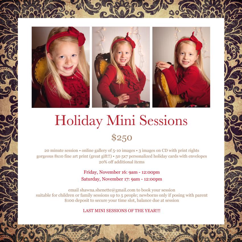 2012 Holiday Mini Sessions Massachusetts Child Photographer Family Photographer