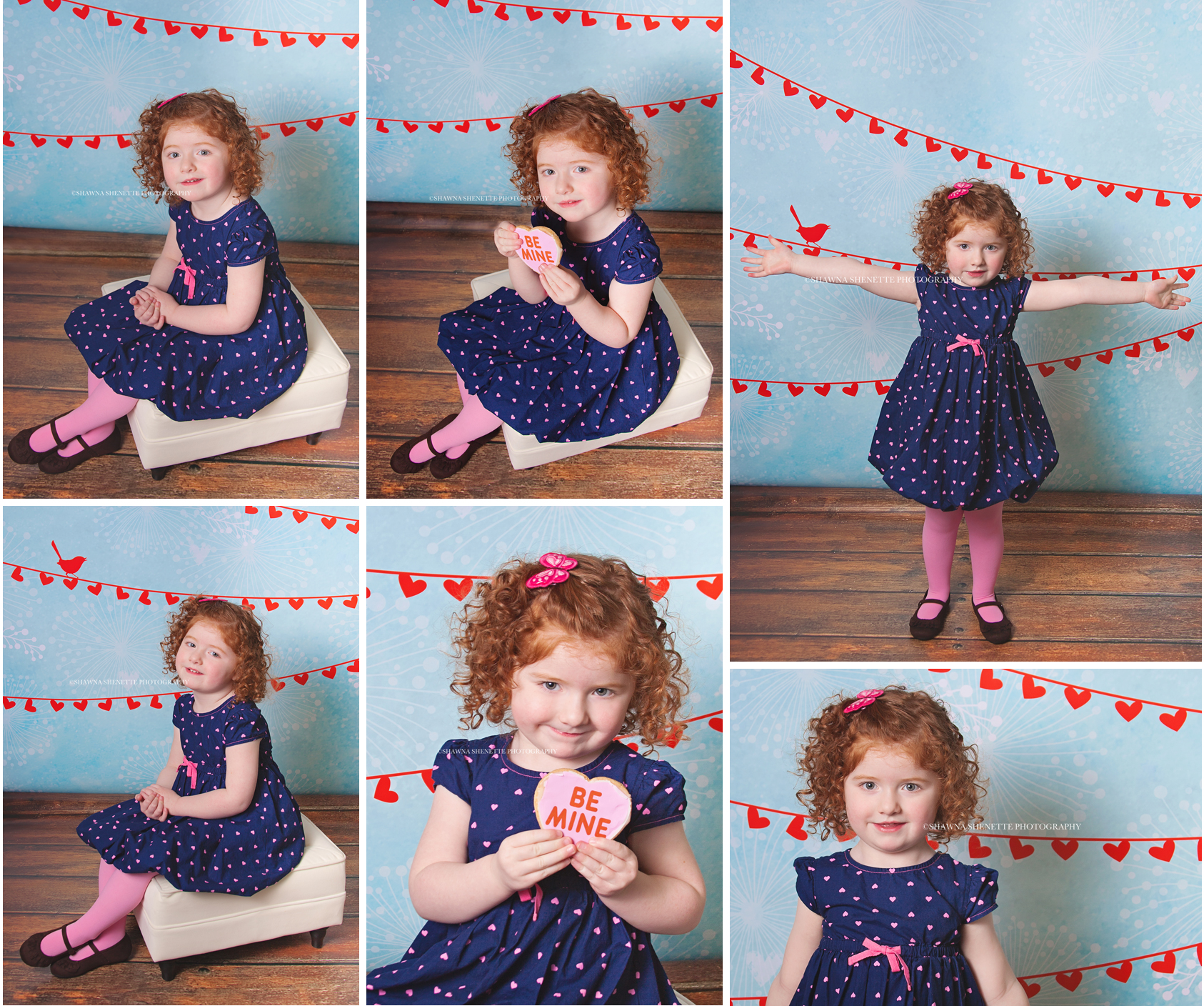 Massachusetts Child Photographer Little Girl Valentine Session Worcester Boston MA Child Photography
