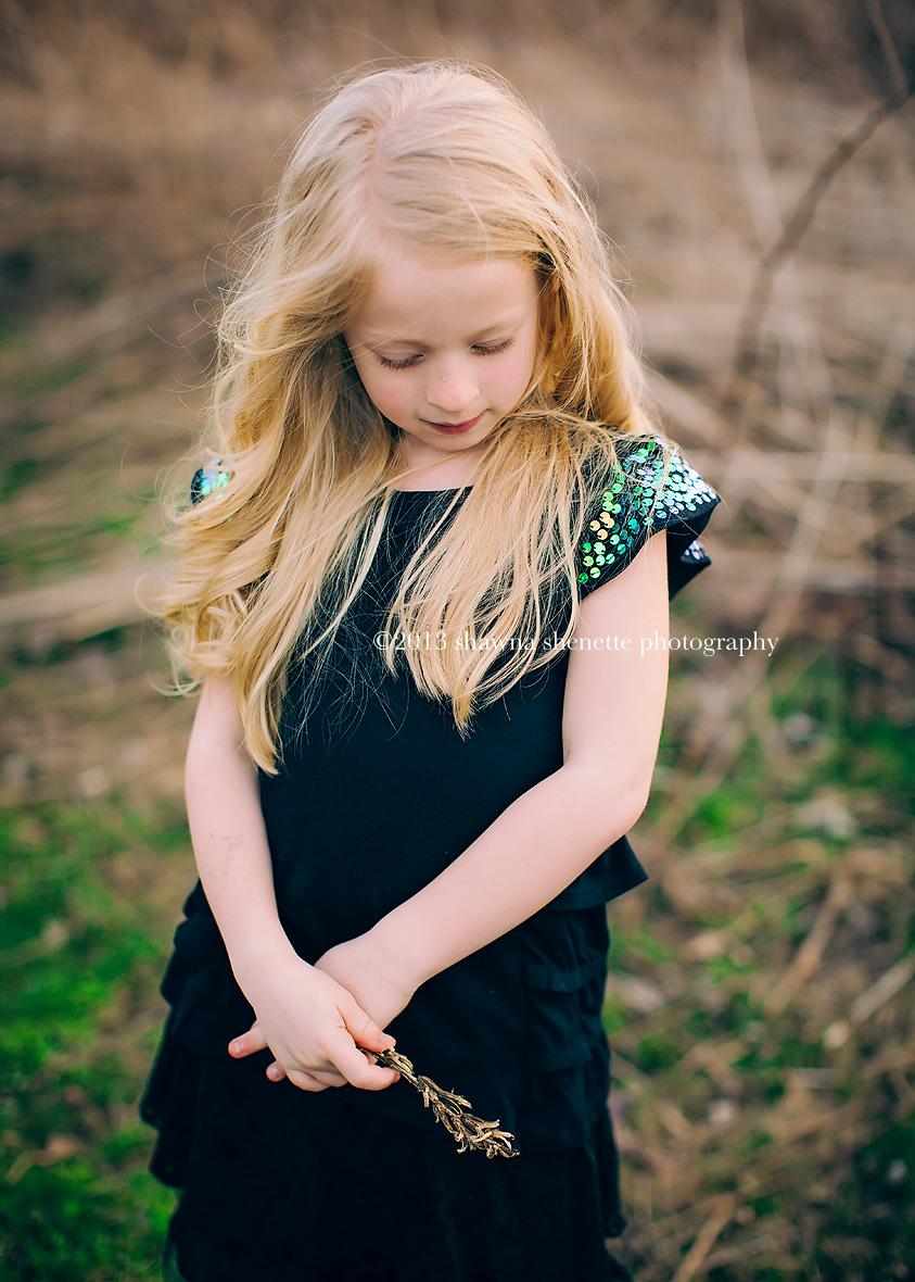 Massachusetts Child Photographer Auburn Worcester Millbury Girl Styled Outdoor Shoot Hat