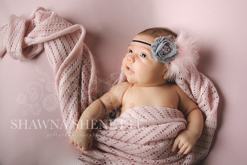 Massachusetts Auburn Worcester Millbury Baby Newborn Girl Photographer Six Weeks Old