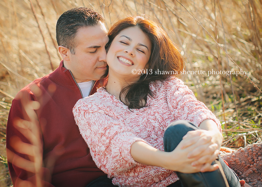 Massachusetts Photographer Couples Outdoor Millbury Auburn Engagement Photos