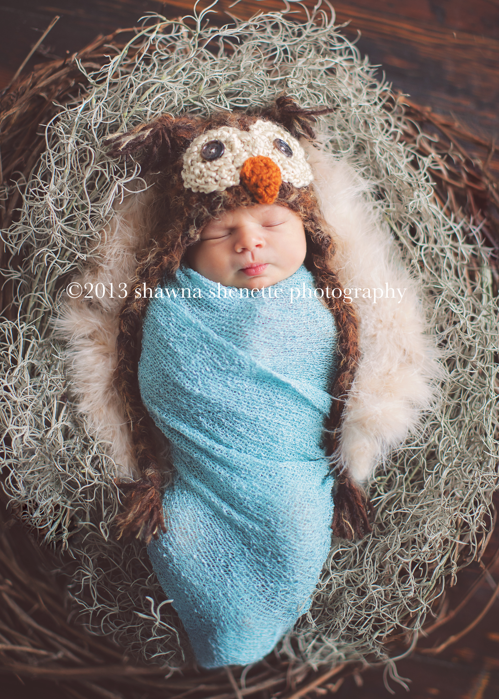 Massachusetts Newborn Photographer Worcester Auburn Millbury Grafton Sutton Newborn Owl Hat Baby Photos