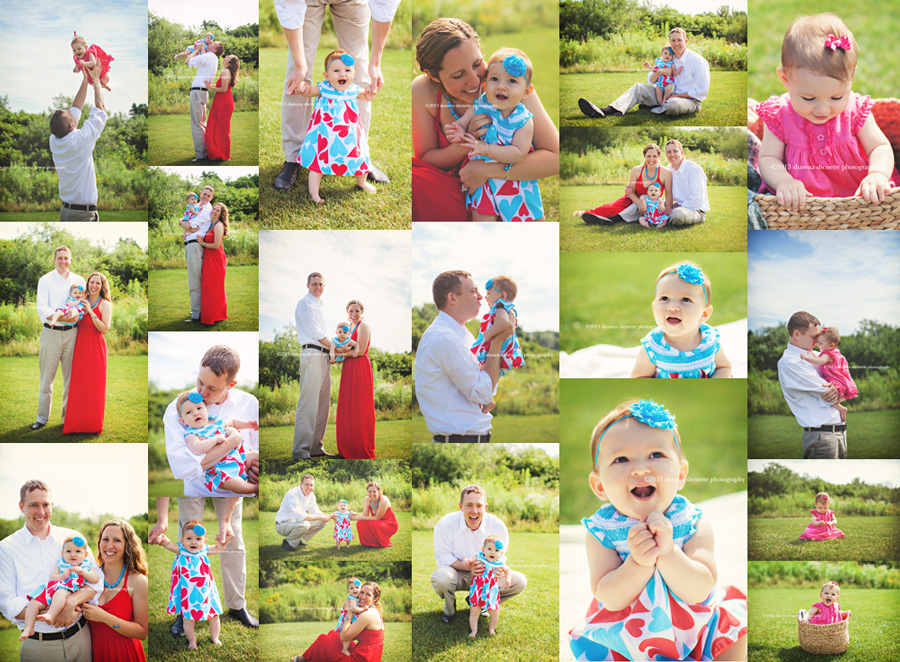 Millbury Family Photographer Massachusetts Auburn Outdoor Baby Girl Portraits