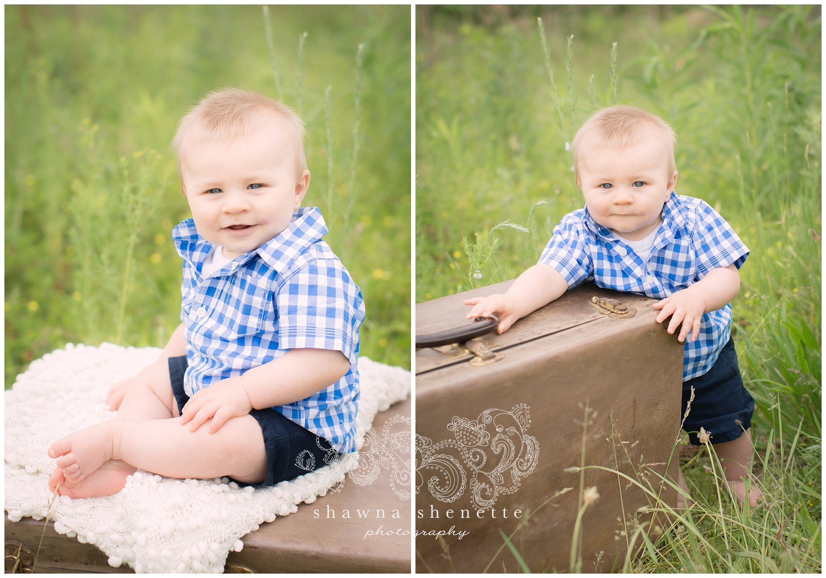 Millbury Massachusetts Child Baby Boy Photographer Outdoor Photos Central MA