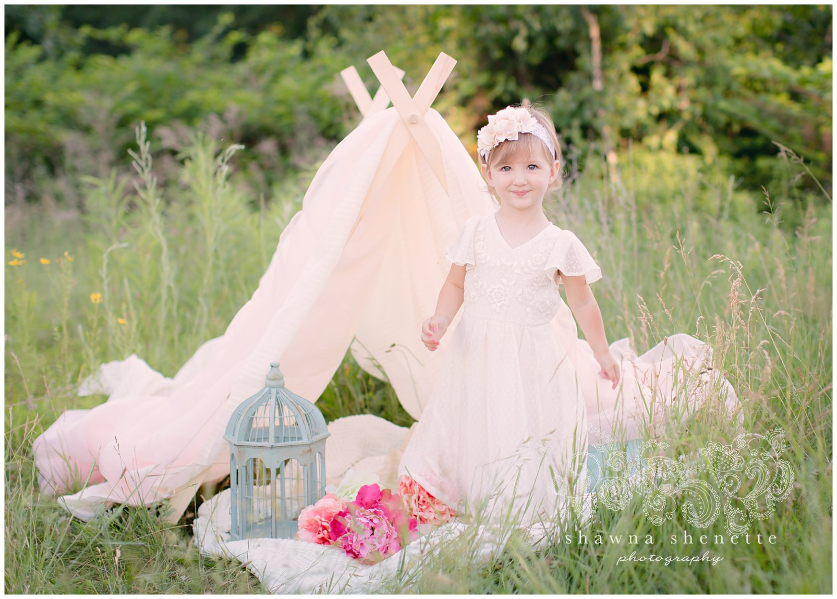Millbury MA Child Photographer Outdoor Portraits Worcester Children Little Girl PhotosFamily Flowers