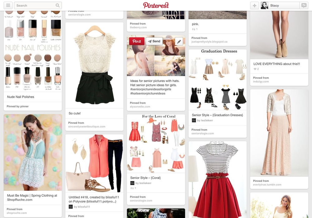 Senior Fashion on Pinterest