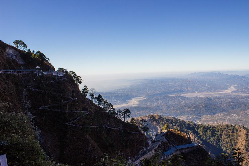 Katra mountains in Jammu, India