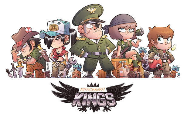 Mercenary Kings by Tribute Games