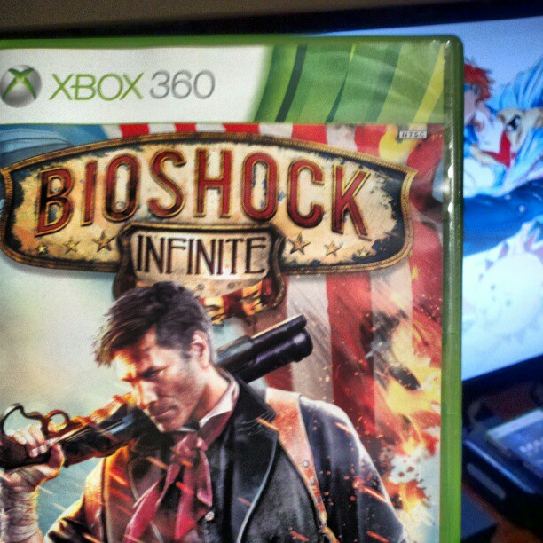 infinitestrike :     Time to see what #BioshockInfinite can do for me. @2KGames @IrrationalGames     Marcus (@GGNMugen) finally getting to Bioshock Infinite