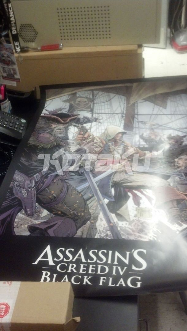 Assassin's Creed IV: Black Flag Outed? Thanks to Kotaku for releasing this photo.